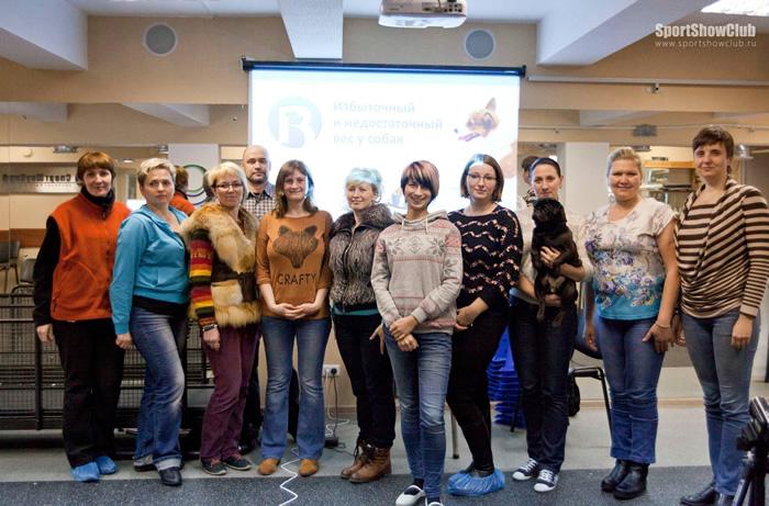 Семинар по диетологии собак в СпортШоуКлубе