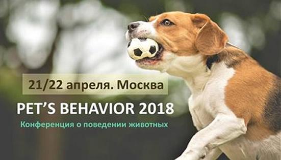 Pet's behavior 2018
